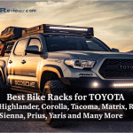Best Bike Rack for a car Toyota Camry, Highlander, Corolla, Tacoma, Matrix, Rav4, Sienna, Prius, Yaris