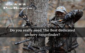 Best dedicated archery rangefinder