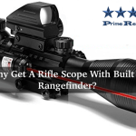 Rifle Scope With Built In Rangefinder