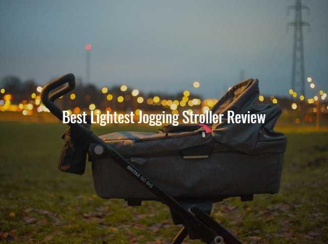 Best lightest jogging stroller review